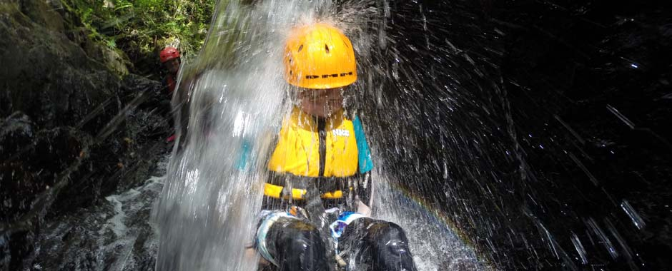 gorge scrambling is great for families with young children