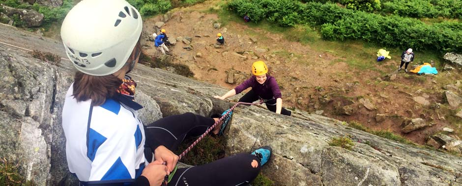 Climbing with Snowdonia Adventure Activities is the perfect fun day out activity for all the family in North Wales